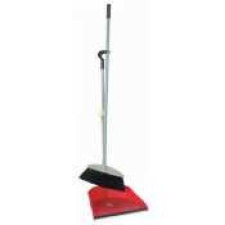 Thunder Group PLDP003, Plastic Fish Style Dust Pan and Broom Set ()