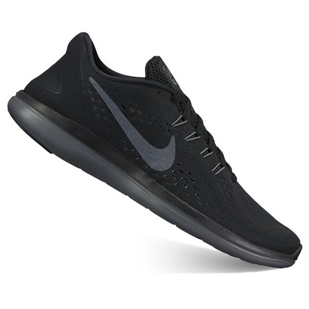 1a31a114be5e Nike - Nike FLEX 2017 RN Mens Black Lightweight Flexible Running Shoes -  Walmart.com