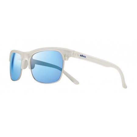 Revo Eyewear Sunglasses Ryland Matte Crystal with Polarized Blue Water Lens