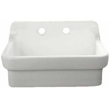 American standard country kitchen sink with high backsplash and 8 cc for wall - American standard kitchen sink ...