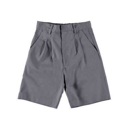 Universal Basic Unisex Pleated Shorts (Sizes 8 - 20)