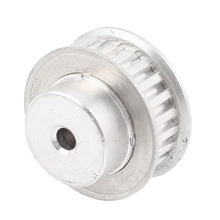 XL037 23T 6mm Bore 2 Flanges Stainless Steel Drive Timing Pulley