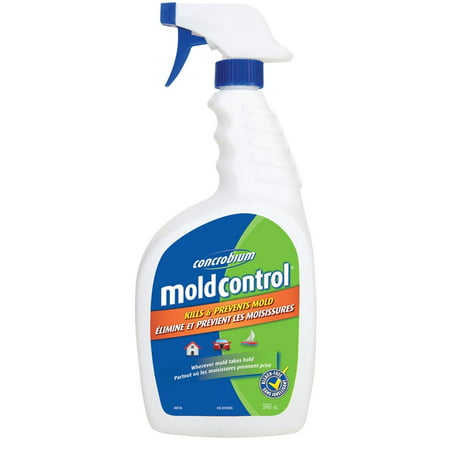Concrobium 020 946 Mold Release Agent Ideal For Fabric Surfaces Drywall Wood Composite Plastic Concrete Shingles Furniture Upholstery And