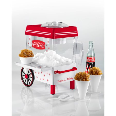 Nostalgia Coca-Cola Snow Cone Maker (A Snow Cone Machine)