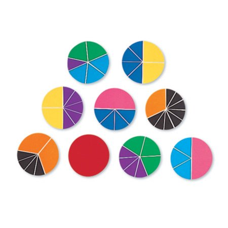 Rainbow Fraction Deluxe (Overhead Fraction Circles)