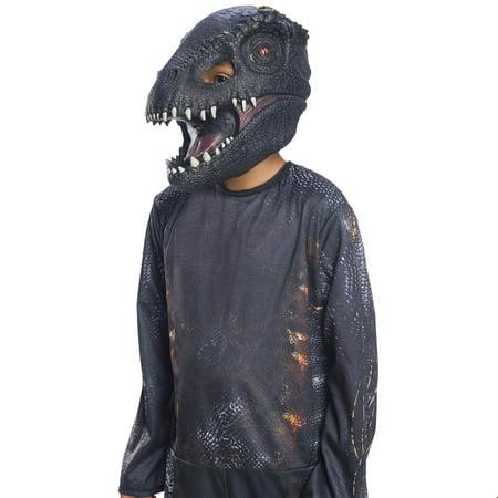Jurassic World: Fallen Kingdom Villain Dinosaur Adult 3/4 Mask Halloween Costume Accessory (Adult Dino Costume)