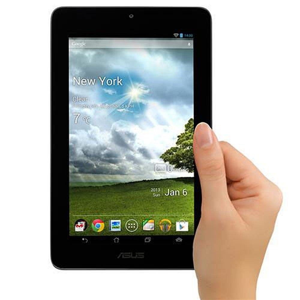 ASUS MeMO Pad 7.0-Inch Touchscreen Tablet with ARM Cortex A-9 Processor (1.0GHz), 1 GB DDR3 RAM, 16 GB Memory and Android OS, Gray, ME172V-A1-GR (Refurbished)