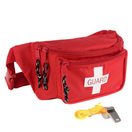 17ba0a37955 MediTac - MediTac Lifeguard Fanny Pack   Hip Pack (Lifeguard Pack With  Whistle) - Walmart.com