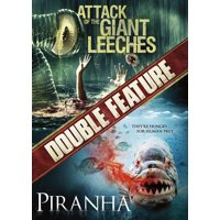 Attack of the Giant Leeches / Piranha (DVD)
