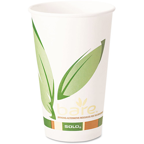 SOLO Cup Company Bare PCF Hot Drink Cups