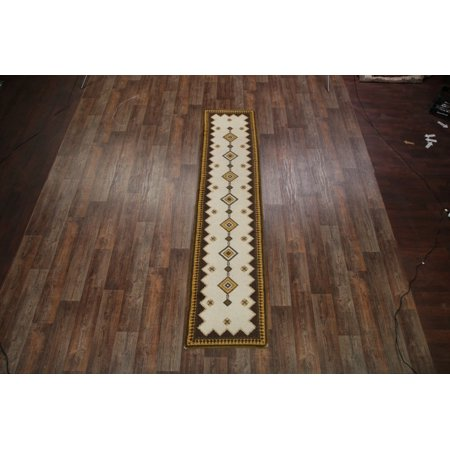 Rugsource 11 ft Long Moroccan Hand Knotted Traditional Oriental Rug Runner for Hallway (10' 10'' x 2' 5'') - Walmart.com
