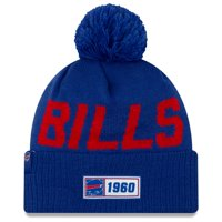 Buffalo Bills New Era 2019 NFL Sideline Road Official Sport Knit Hat - Royal - OSFA