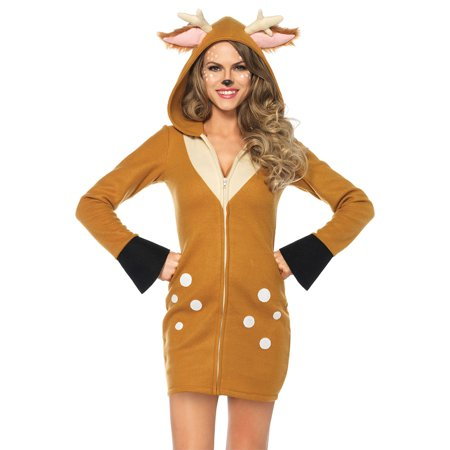- Morris Costumes Fawn Cozy Adult Small
