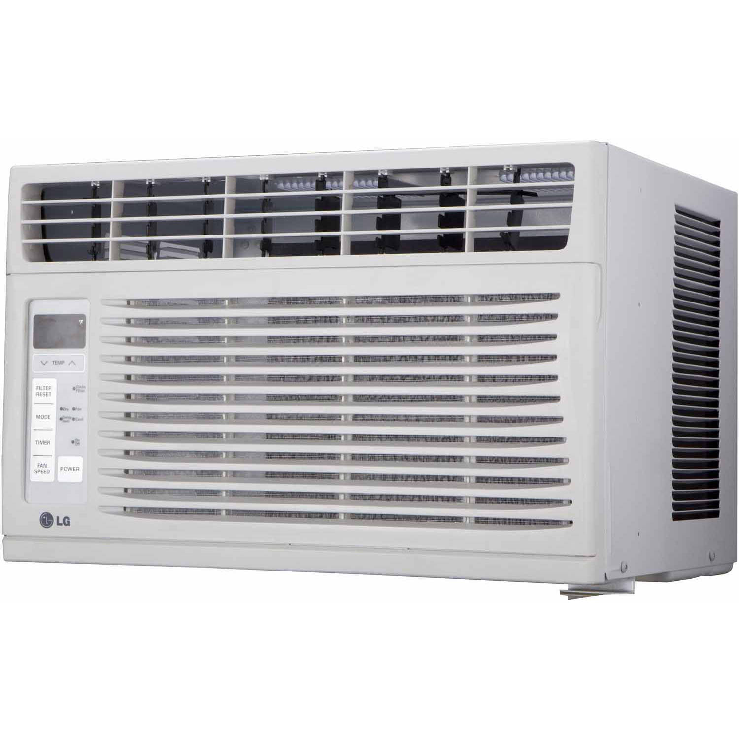 LG Electronics LW6015ER Energy Efficient 6,000-BTU 115V Window-Mounted Air Conditioner with Remote Control