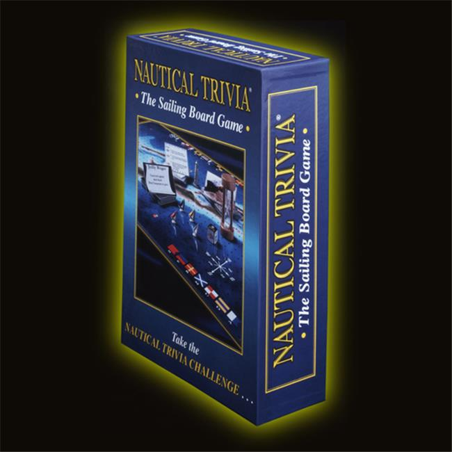 Nautical Trivia NT-101 Nautical Trivia Board Game by Summit Distribution