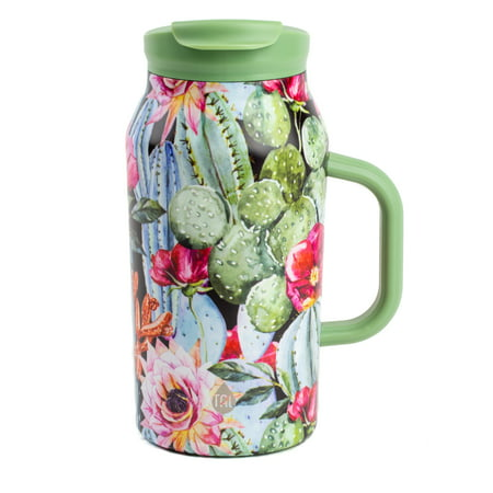 Tal 40 Ounce Cacti Stainless Steel Basin Water Bottle