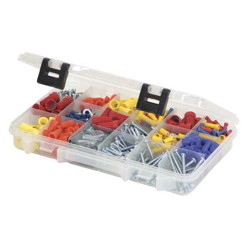 Plano Molding Compartment Box, Polypropylene, Clear, 2361870