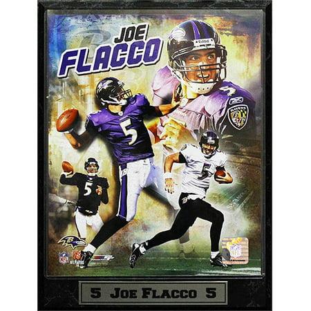 NFL Joe Flacco Photo Plaque, 9x12