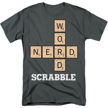 Word Nerd Scrabble Classic Board Game Front & Center T-Shirt