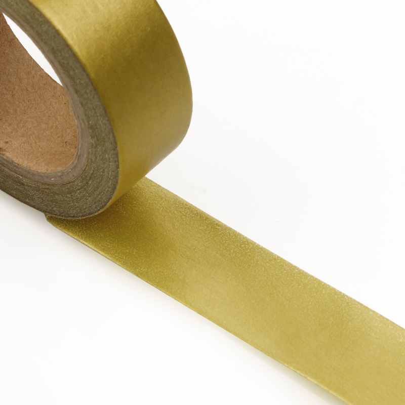 """9/16"""" X 10 Yards White Solid Color Washi Tape  by Paper Mart"""