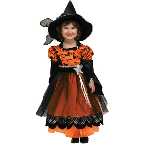 Rubies Orange Party Witch Child Halloween Costume