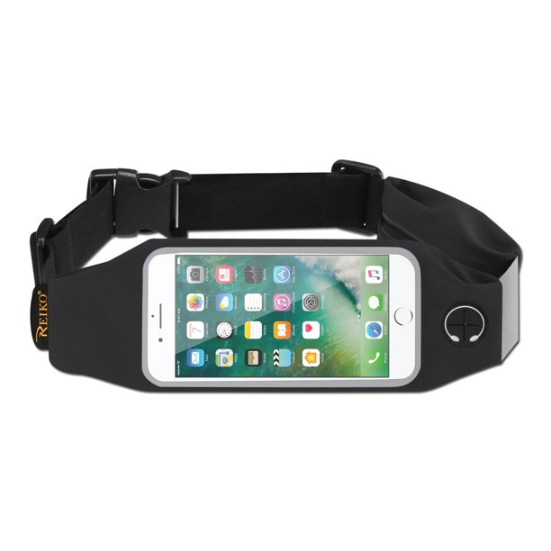 Running Belt Fanny Pack Runners Best Fitness Gear For Hands Free Workout For Iphone 7 Plus 6s Plus Or 5 5 Inches Device With Two Pockets Walmart Com Walmart Com