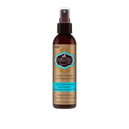 HASK Argan Oil Repairing 5 in 1 Leave-In Conditioner, (Best Leave In Conditioner For Fine Oily Hair)