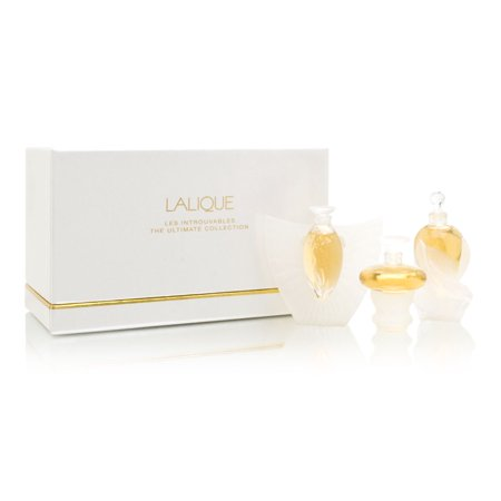 2000 Collector Set (Lalique Les Introuvables Limited Miniature Collections 2000 To 2002 3 Piece)