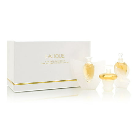 Lalique 159986 Set-Mini Collectibles From 2000-2001-2002 All Are Parfum .15-Oz