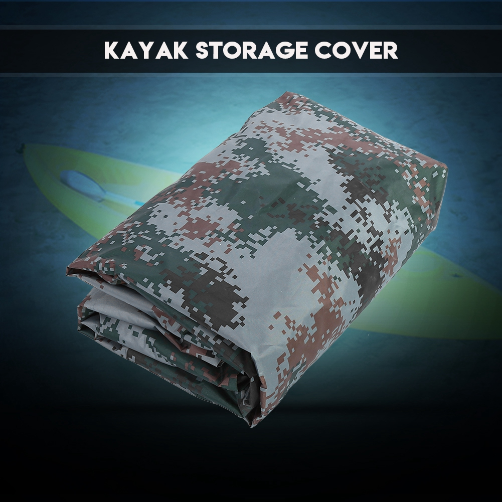 4.5m Waterproof UV Sun Protection Storage Dust Cover for 3.6-4m Kayak Boat Canoe,Kayak Cover, Canoe Cover