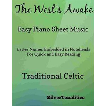The West's Awake Easy Piano Sheet Music Pdf - eBook