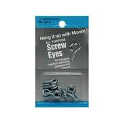 Moore Screw Eyes Round Head 12pc