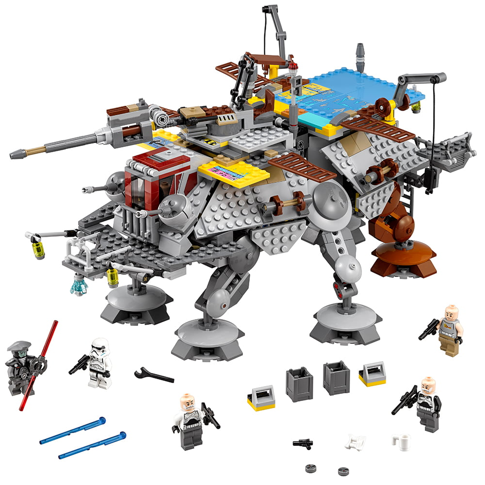 Lego Star Wars Tm Captain Rexs At Te 75157 Walmart