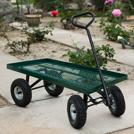 Stkusa Wagon Garden Cart Nursery Trailer Wheelbarrows