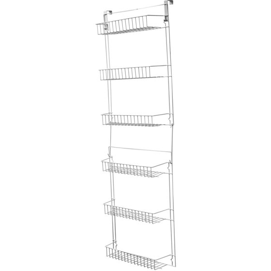 Closet Organizer with 6 Shelves, Over the Door Pantry