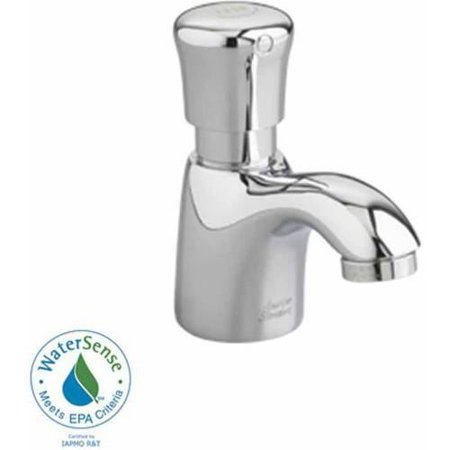 American Standard 1340M 105 002 1 0 Gpm Pillar Tap Metering Faucet With Mechanical Mixing Valve  Chrome