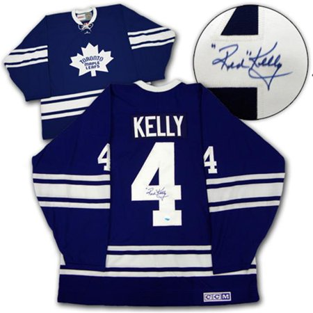 AJ Sports World KELR104000 RED KELLY Toronto Maple Leafs SIGNED 1967-Cup JERSEY by