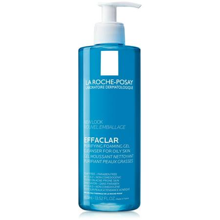 La Roche-Posay Effaclar Purifying Foaming Gel Cleanser for Oily Skin 13.5 Fl. Oz