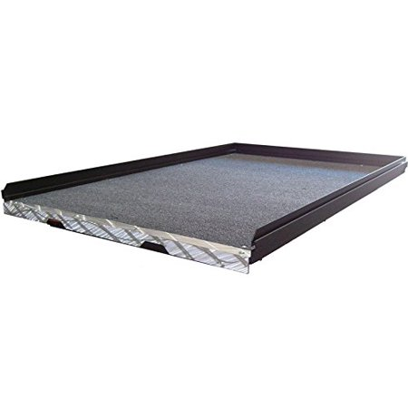 CARGOGLIDE CG1000-9548 SLIDE OUT TRUCK BED TRAY,1000 LB CAPACITY,70% EXTENSION,6 BEARINGS,ALUM TIEDOWN RAILS, PLYWOOD DECK ()
