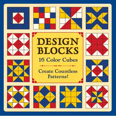 Design Blocks: 16 Color Cubes Block Puzzle (Other)