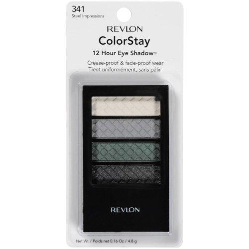 Revlon Colorstay 12 Hour Eye Shadow, Steel Impressions 341