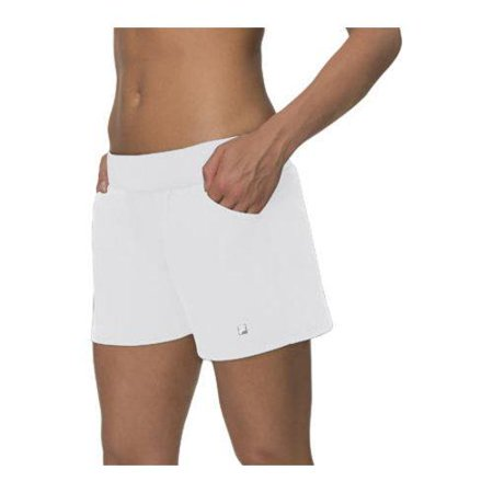 Fila Women's  Essential Woven Short White (Essential Woven Shorts)