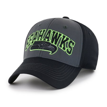 NFL Seattle Seahawks Blackball Script Adjustable Cap/Hat by Fan Favorite
