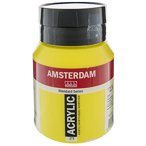 ROYAL TALENS NORTH AMERIC 17722752 AMSTERDAM ACRYLIC COLOR 500ML PRIMARY YELLOW