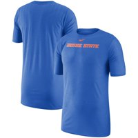 Boise State Broncos Nike 2018 Sideline Player Performance Top - Royal