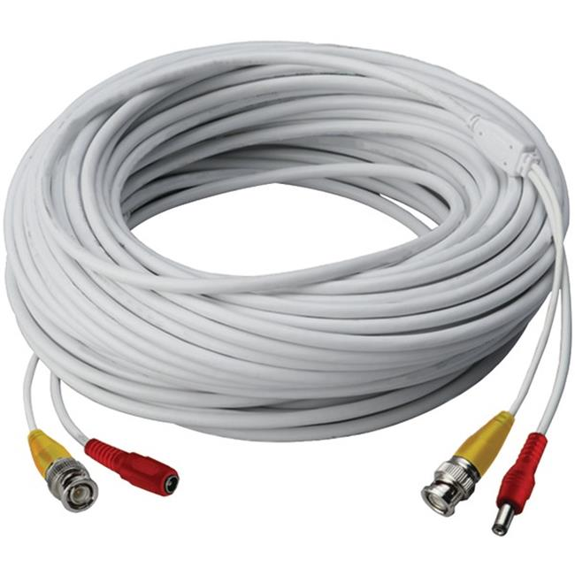Lorex CB60URB Video RG59 Coaxial BNC & Power Cable - 60 ft.
