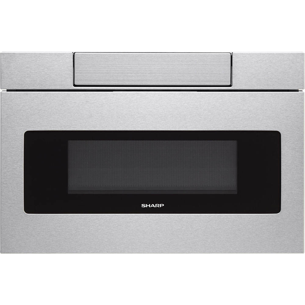 """Sharp SMD3070A 30"""" Wide 1000 Watt 1.2 Cu. Ft. Drawer Microwave with Push Button Opening"""