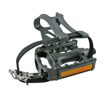 EVO, Adventure Plus, Pedals and toe-clips and straps,