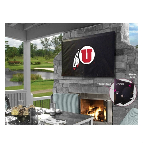 NCAA TV Cover by Holland Bar Stool, 50''-56'' - Utah Utes