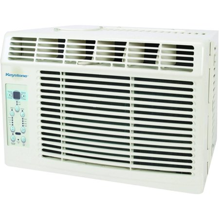 Keystone Kstaw06b Energy Efficient 6 000 Btu 115V Window Mounted Air Conditioner With   Follow Me   Lcd Remote Control